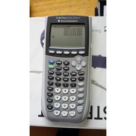 Calculadora Texas Ti 84 Plus Siver Graficadora Programabe