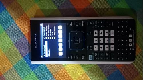calculadora texas ti-nspire cx