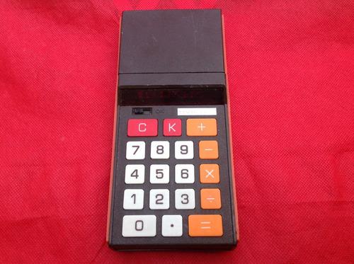 calculadora víctor mod.95 colleccion años 60.s funciona