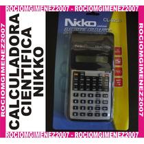Calculadora Cientifica Nikko