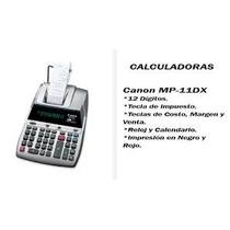 Calculadoras Canon Mp-11dx
