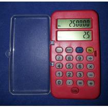 Mini Calculadora 8 Digitos Doble Pantalla 78 .x 44 .x 12 .mm