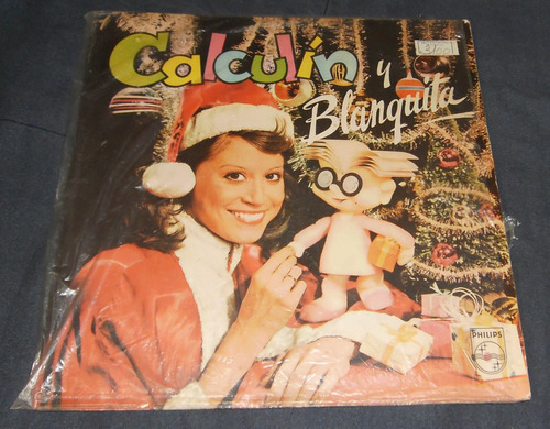 calculin y blanquita lp vinilo disco audio antiguo