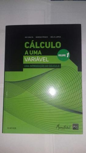 cálculo a uma variável  volume 1