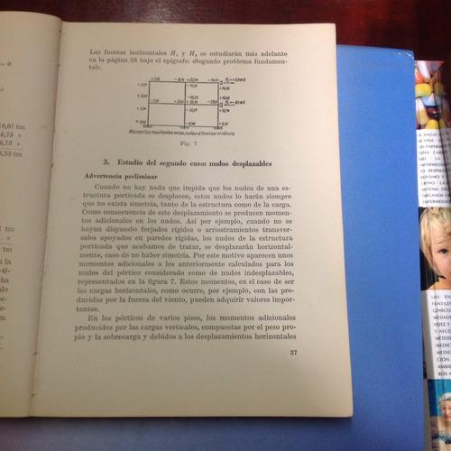 cálculo de estructuras por el método de cross. c. prenzlow.