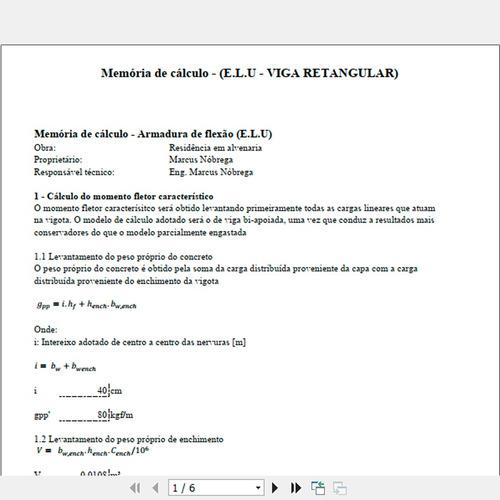 cálculo de lajes pré moldadas