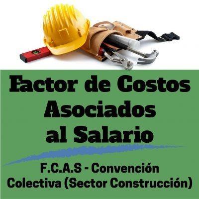 calculo del factor de costos asociados al salario (f.c.a.s.)