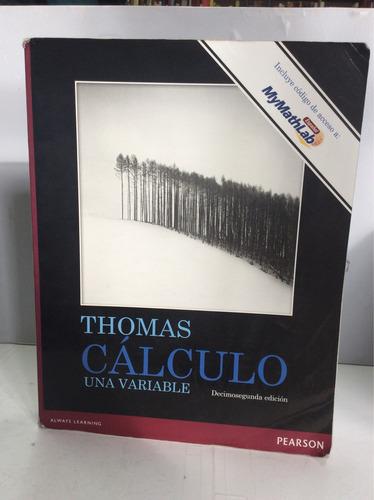 cálculo una variable, thomas, decimosegunda edición