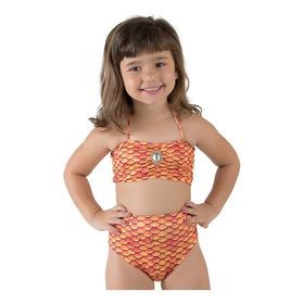 Calda De Sereia + Biquini Infantil  - Promoção
