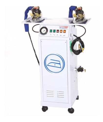 caldeira geradora de vapor p/ passar roupas c/ 2 ferros