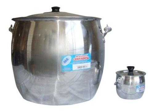 caldeirão bojudo de alumínio continental 3 litros