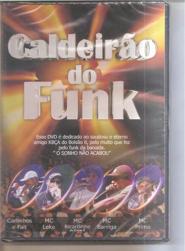 caldeirão do funk dvd lacrado original dj david sampa