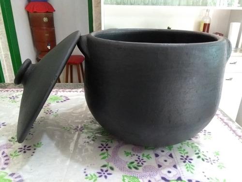 caldeirão panela de barro capixaba original 6 litros