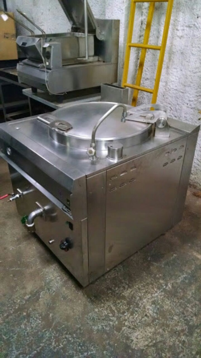 Caldeir O Todo Em Inox Cozinha Industrial 100 Litros A G S R