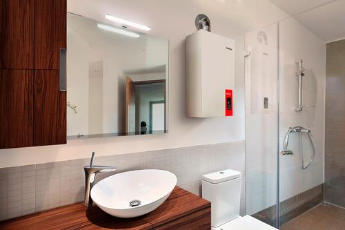 caldera calefacción fondital 32 kwp + aislante de puertas