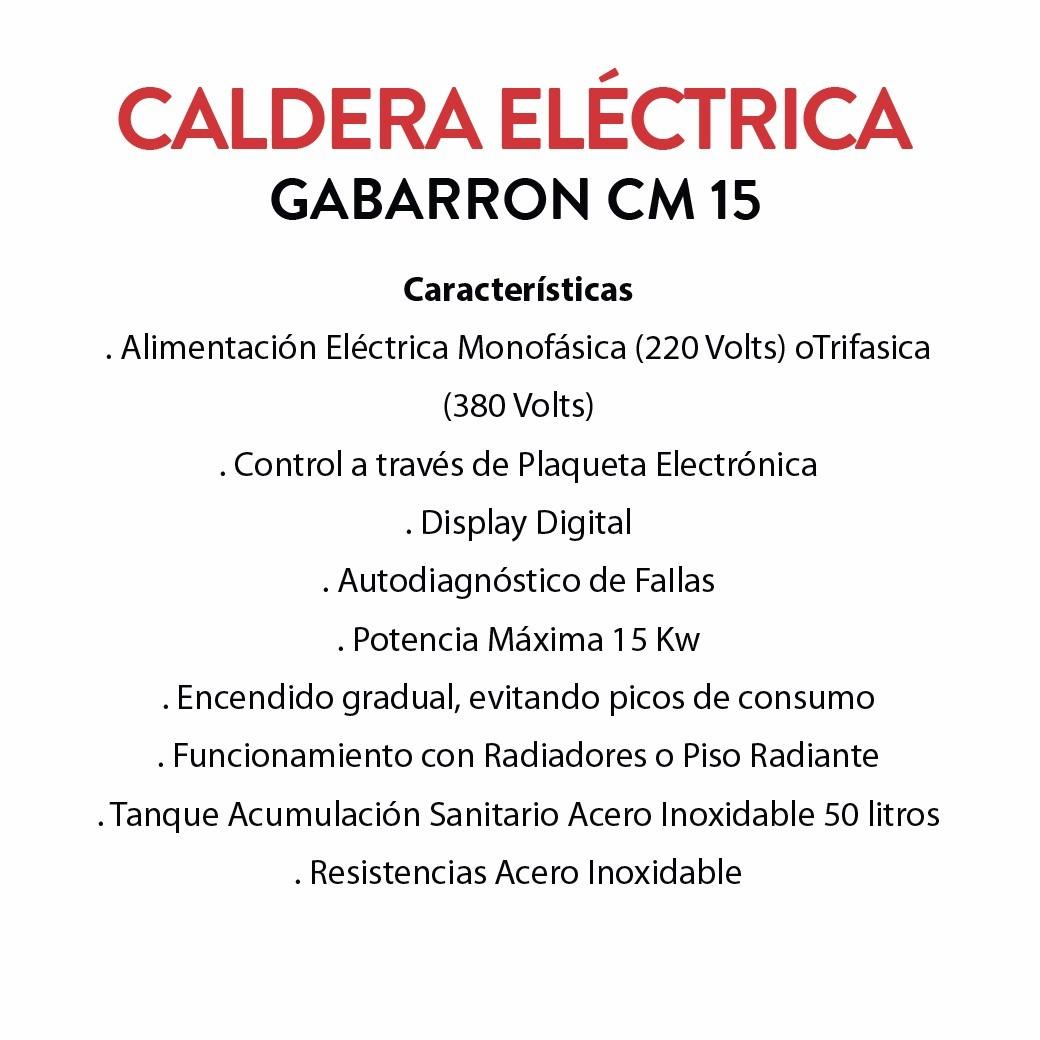 Caldera El Ctrica Gabarr N Cm15 Solo Calefacci N 39 899 00 En