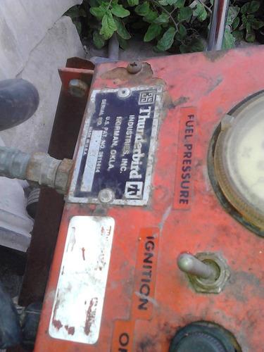 caldera lavadora con vapor presurizado thunderbird con