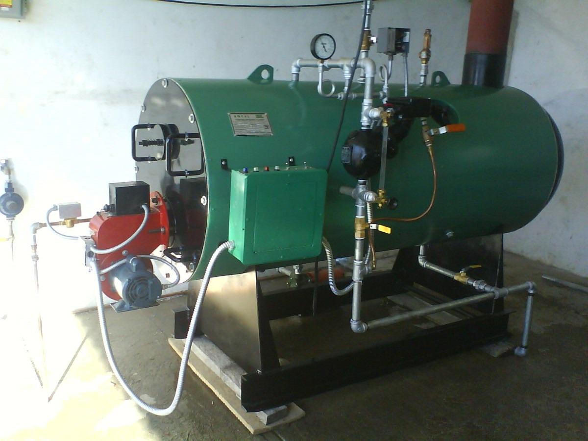 Caldera marca emcal horizontal para vapor y agua caliente - Caldera no calienta agua si calefaccion ...