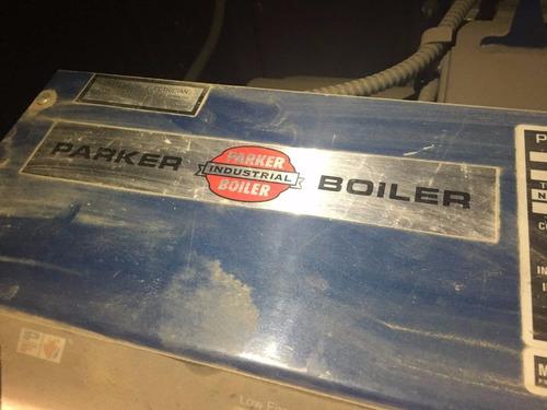 caldera parker  de 500,000 btu por hr 100 hrs de uso complet