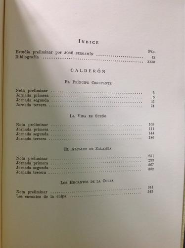 calderón teatro/ en la coleccióncoleccion los clásicos de ja