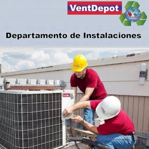 calefacción central para el frio, mxpoc-006, 60000btu, gasl
