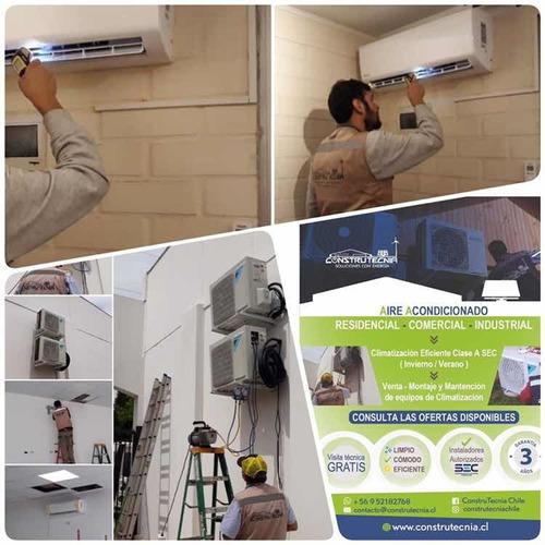 calefacción eficiente - aire acondicionado