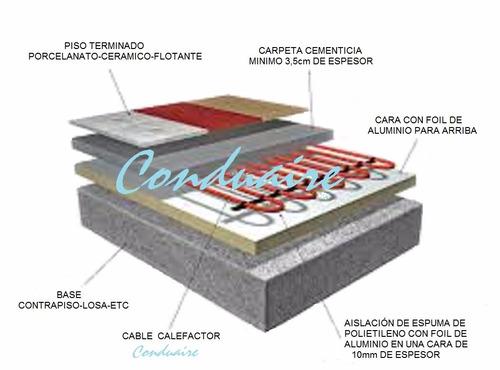 Calefaccin suelo radiante precio fabulous free great - Precio metro cuadrado suelo radiante ...