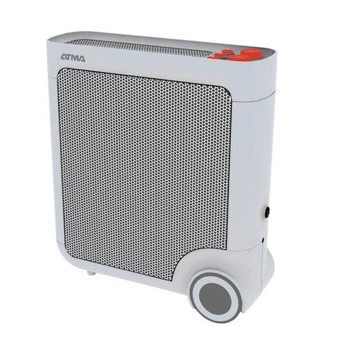 calefaccion radiador de mica atma 1500w ce5304e timer ruedas