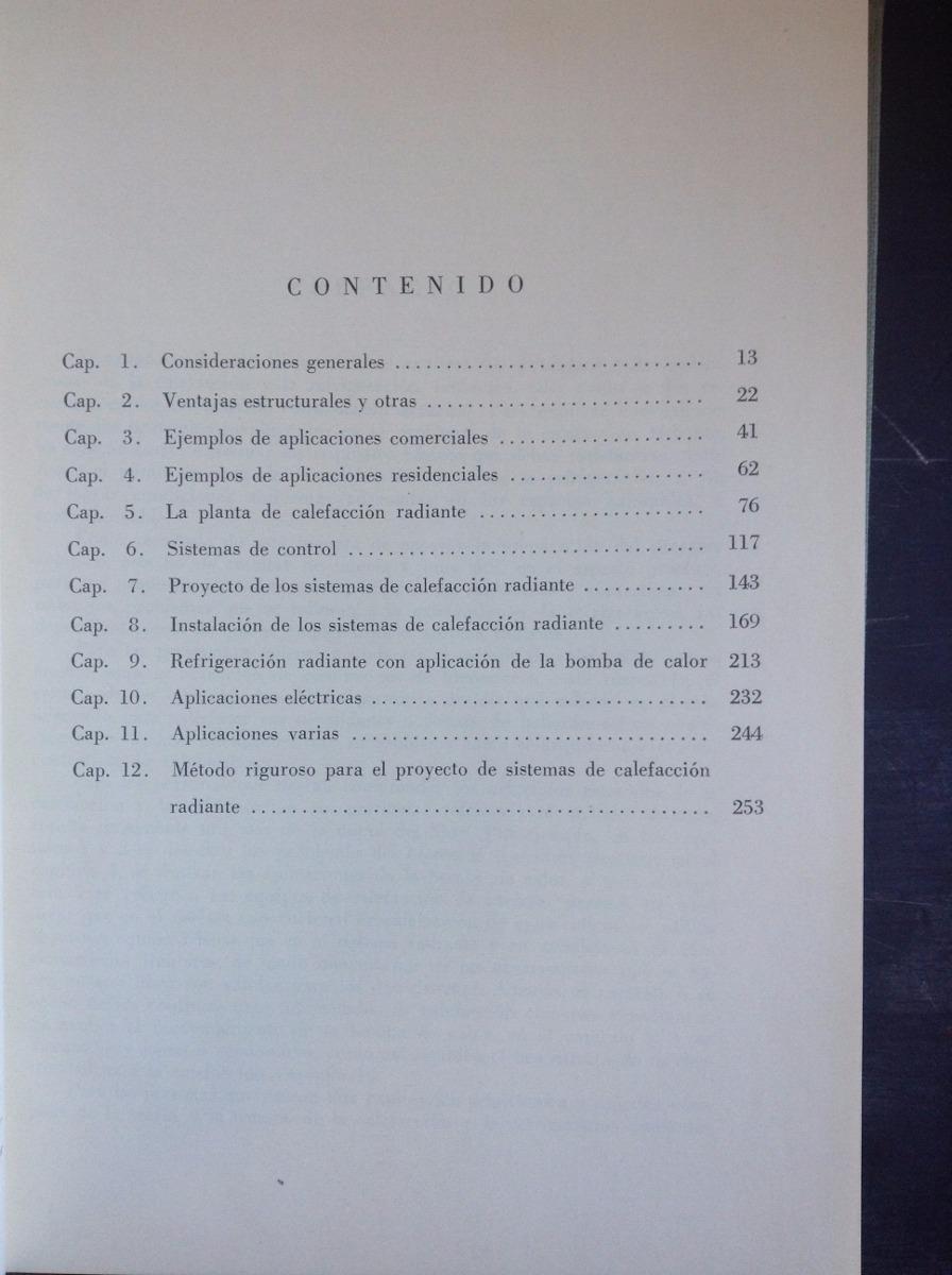 Calefaccion Radiante Ing. Adolfo Di Marco Editorial Hispano - $ 500 ...