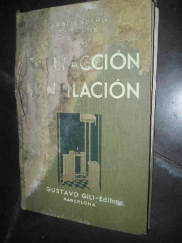 calefaccion ventilacion manual para uso de instaladores 1931
