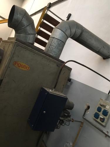 calefactor a gas para fábrica 65000 calorías hora