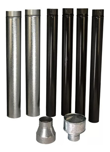 calefactor austral tromen 5500 kcal + kit de instalación mm