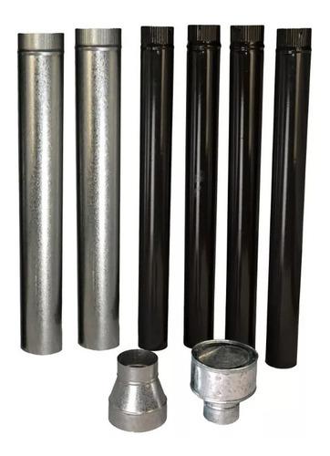 calefactor austral tromen 7500 kcal + kit de instalación mm