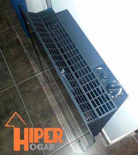 calefactor calden 5000 s/salida gn frente vidrio templado