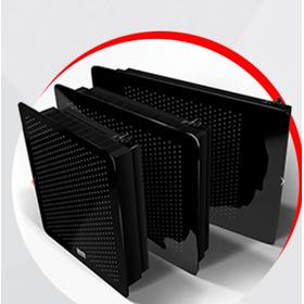 Calefactor Calden Sin Salida Vidrio Negro 5000 Kcal Monza