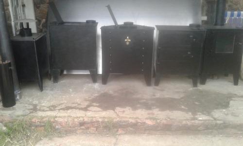 calefactor con puerta de vitroceramico