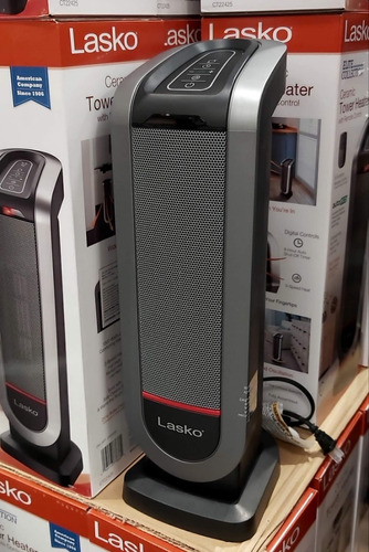 calefactor de torre ceramico lasko elite collection 1500w