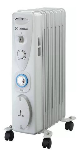 calefactor electrico 1500w 110v marca teknogas