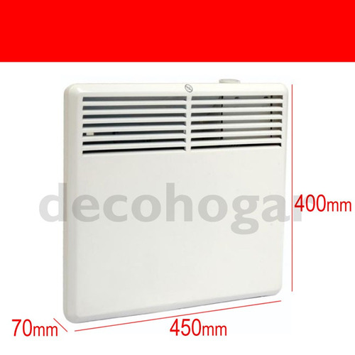 calefactor electrico clever por conveccion 650w bajo consumo