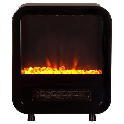 calefactor eléctrico con chimenea