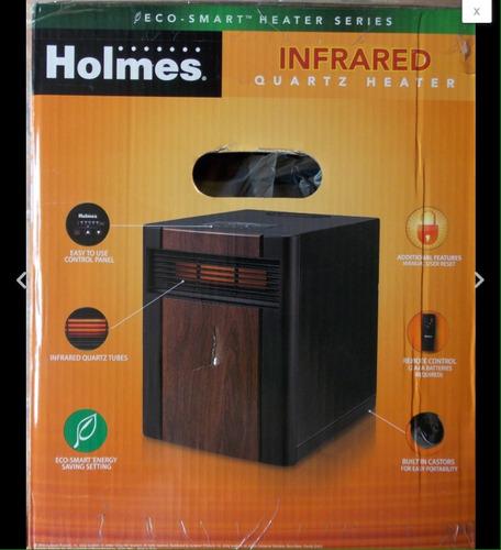 calefactor eléctrico infrarrojo holmes