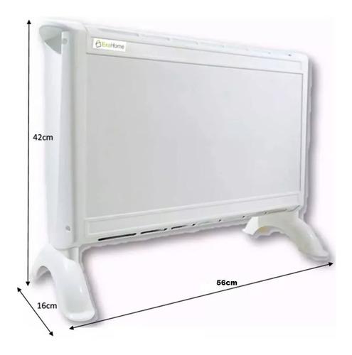 calefactor electrico panel estufa 3 niveles 2 años exahome