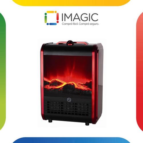 calefactor eléctrico simil hogar clever fp1500 w estufa *