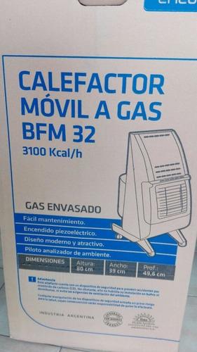calefactor emege estufa gas
