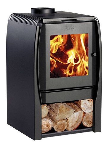 calefactor estufa a leña amesti nordic 380 + obsequio