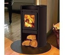 calefactor estufa a leña amesti rondo 450 + obsequio