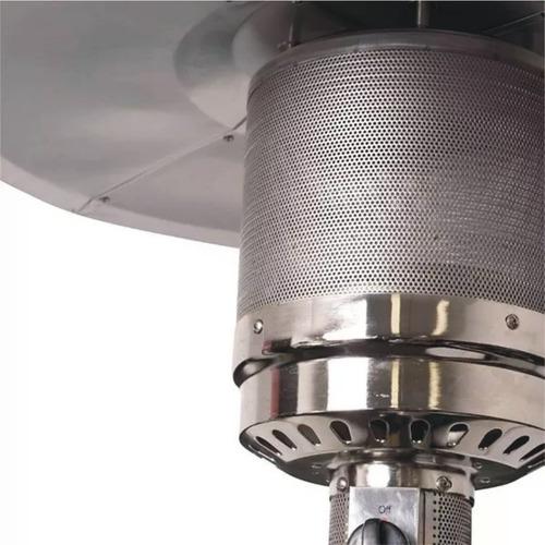 calefactor estufa para exterior tipo hongo daewoo ruedas
