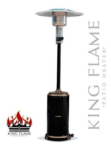 calefactor exterior a gas king flame 42.000 btus bronce
