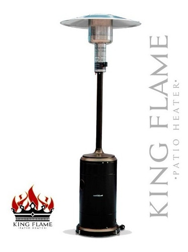 calefactor exterior a gas king flame 42.000 btus+ forro
