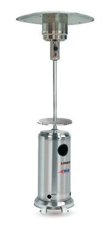 calefactor exterior hongo acero inoxidable c/ruedas lusqtoff
